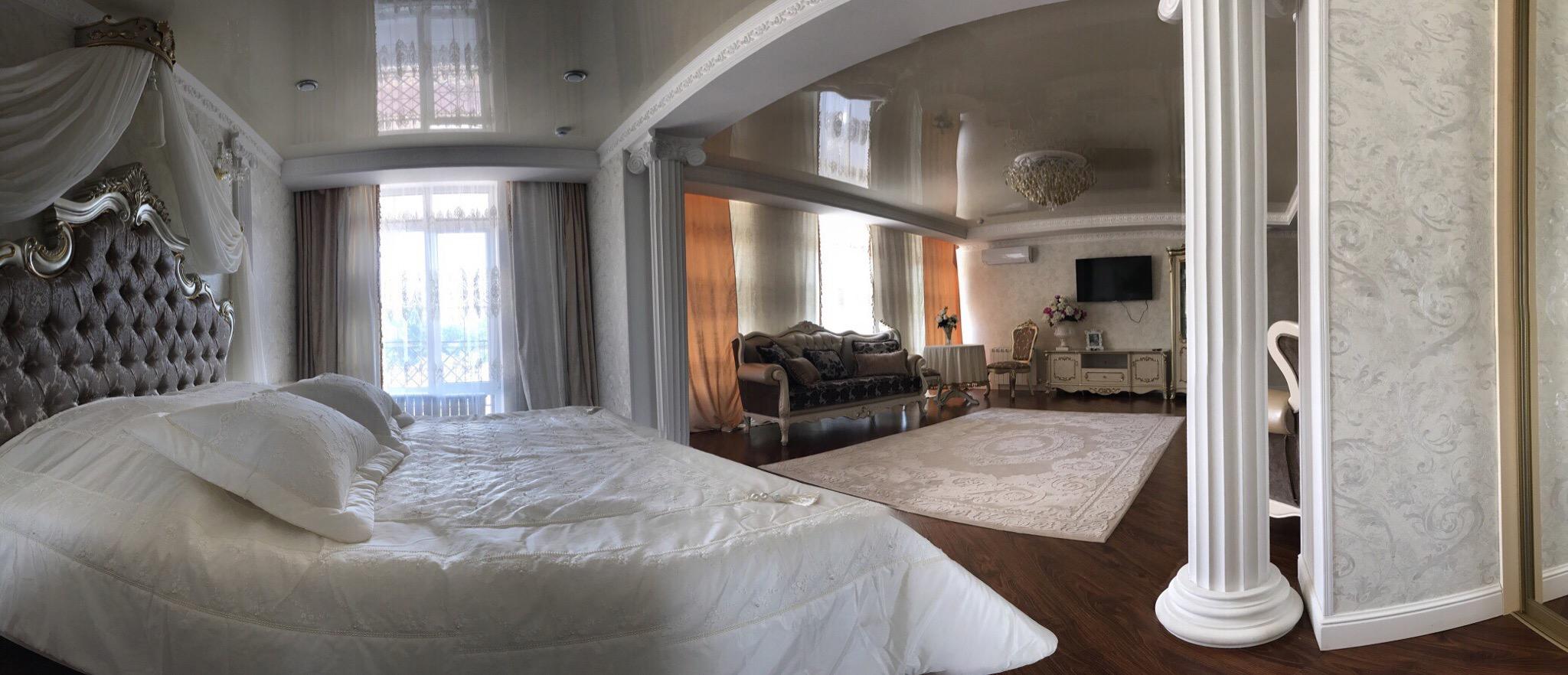 Двухкомнатные апартаменты, спальня вид