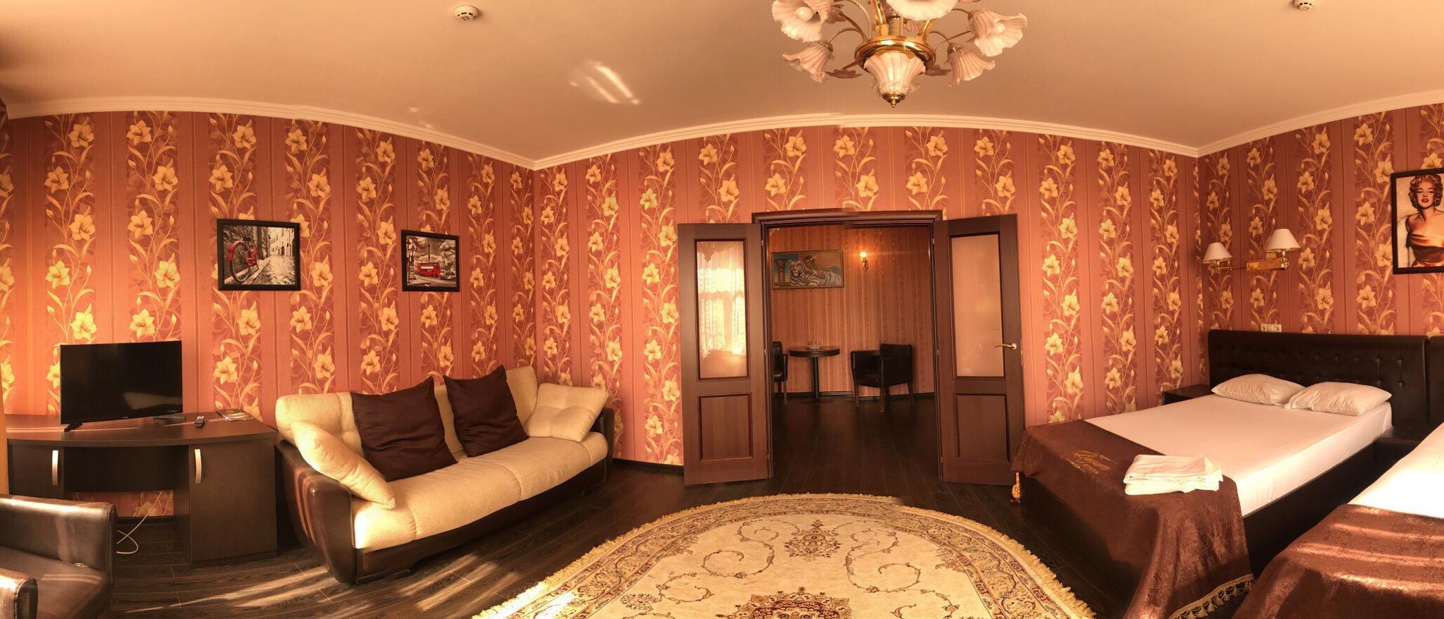 Номер люкс в отеле Визит 3